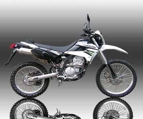 2014 Kawasaki KLX 250S White