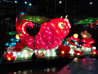 Fish lantern, in the Float in 2013 Chinese New Year, Singapore