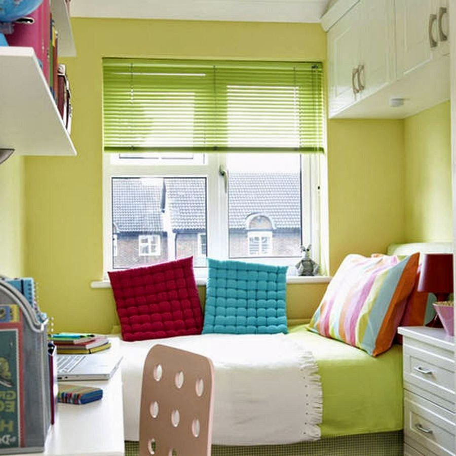 Small Bedroom Wall Color Wallpaper In Small Bedroom