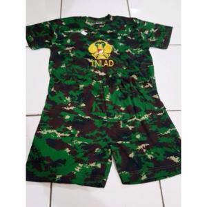 Baju Stelan Anak Pendek Loreng NKRI