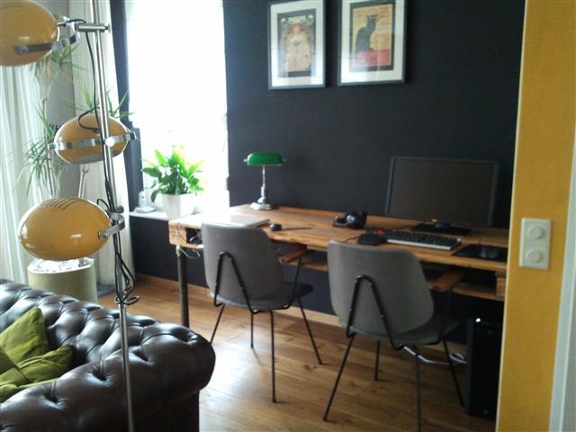 Bureau In Woonkamer. Woonkamer Ideeen Kleuren Bureau With Bureau In ...