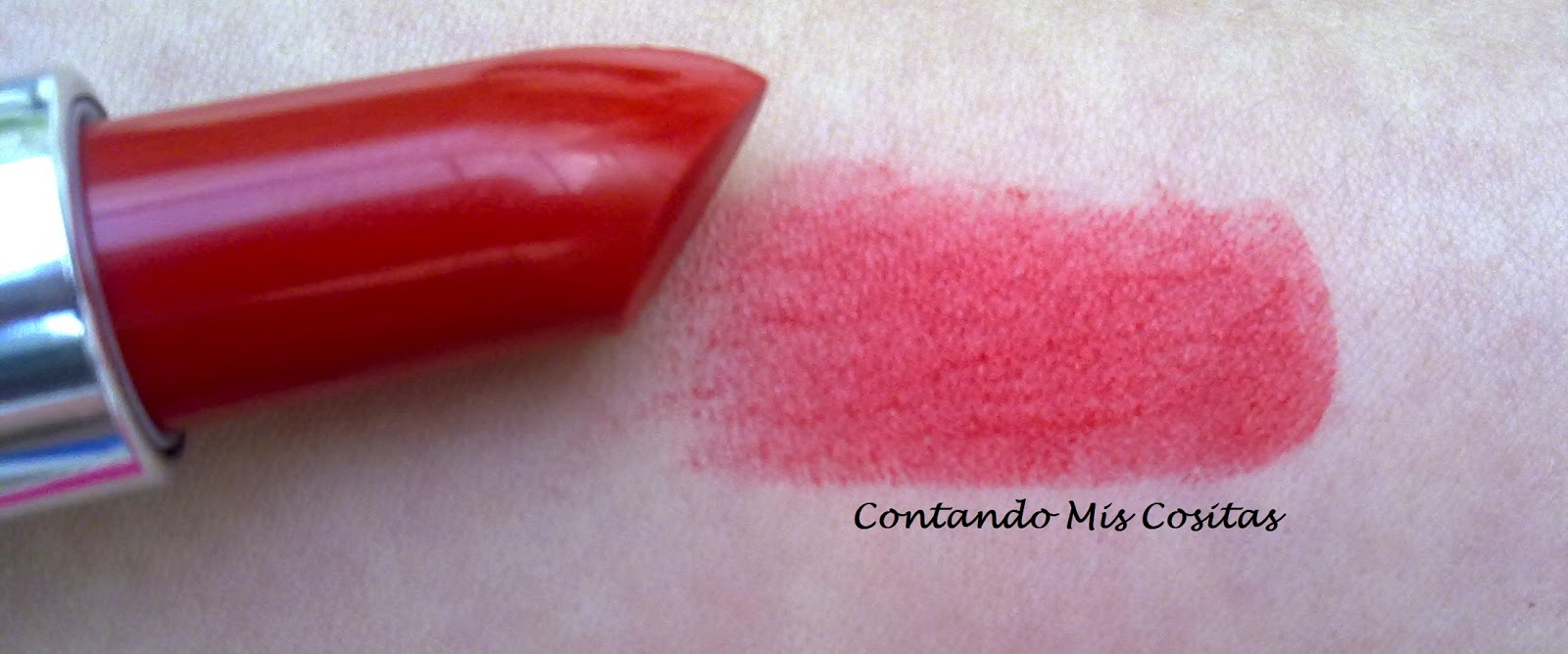 swatch labial yves rocher  colours rouge proussen regalo gratis