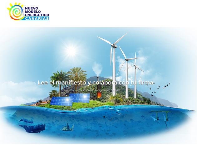 Manifiesto por un Nuevo Modelo Energético para Canarias