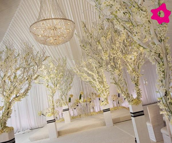 decoracao branca casamento: inspire-se nestas ideias de decoração de casamento com branco