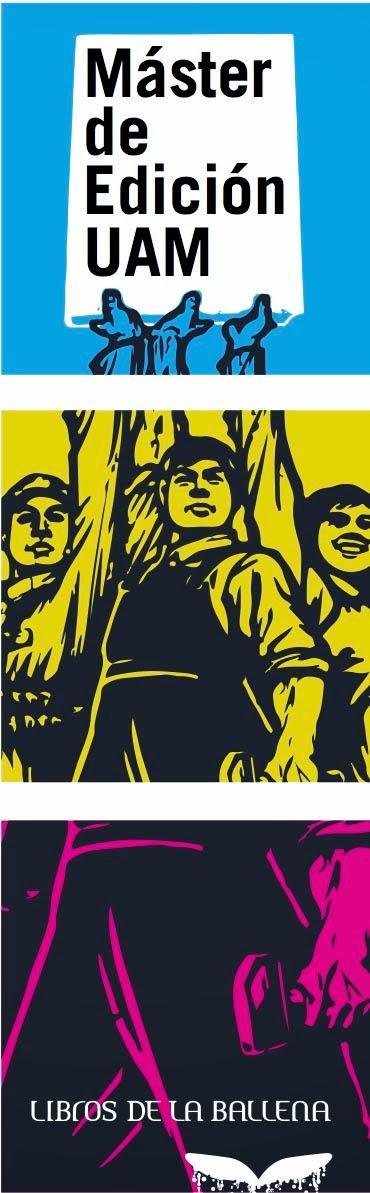 Máster de Edición de la UAM, Libros de la Ballena 2014