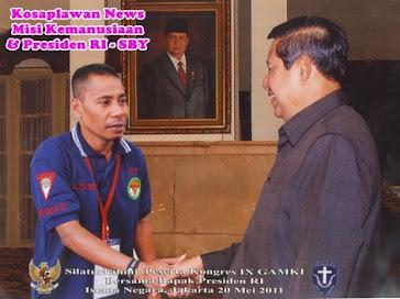 Kosaplawan News Bersama Presiden RI SBY di Istana Negara Jakarta...