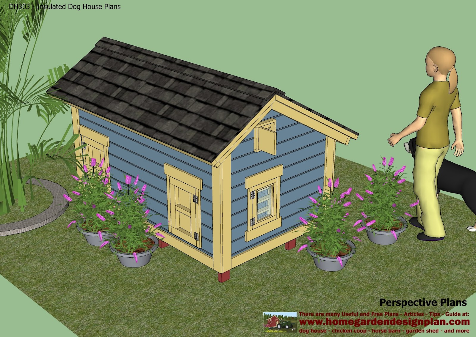 Unique Insulated Dog House Plan Is Only One Design Of Many