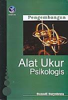 toko buku rahma: buku PENGEMBANGAN ALAT UKUR PSIKOLOGIS, pengarang sumadi suryabrata, penerbit Andi