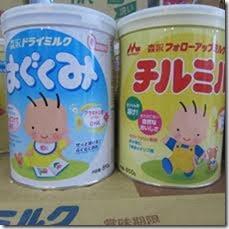 Sampel susu formula 'Wakodo', 'Morinaga' dianalisis