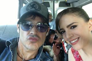 "... Juan Ángel Esparza, pareja de ""Corazón Indomable"" (Foto: Twitter"