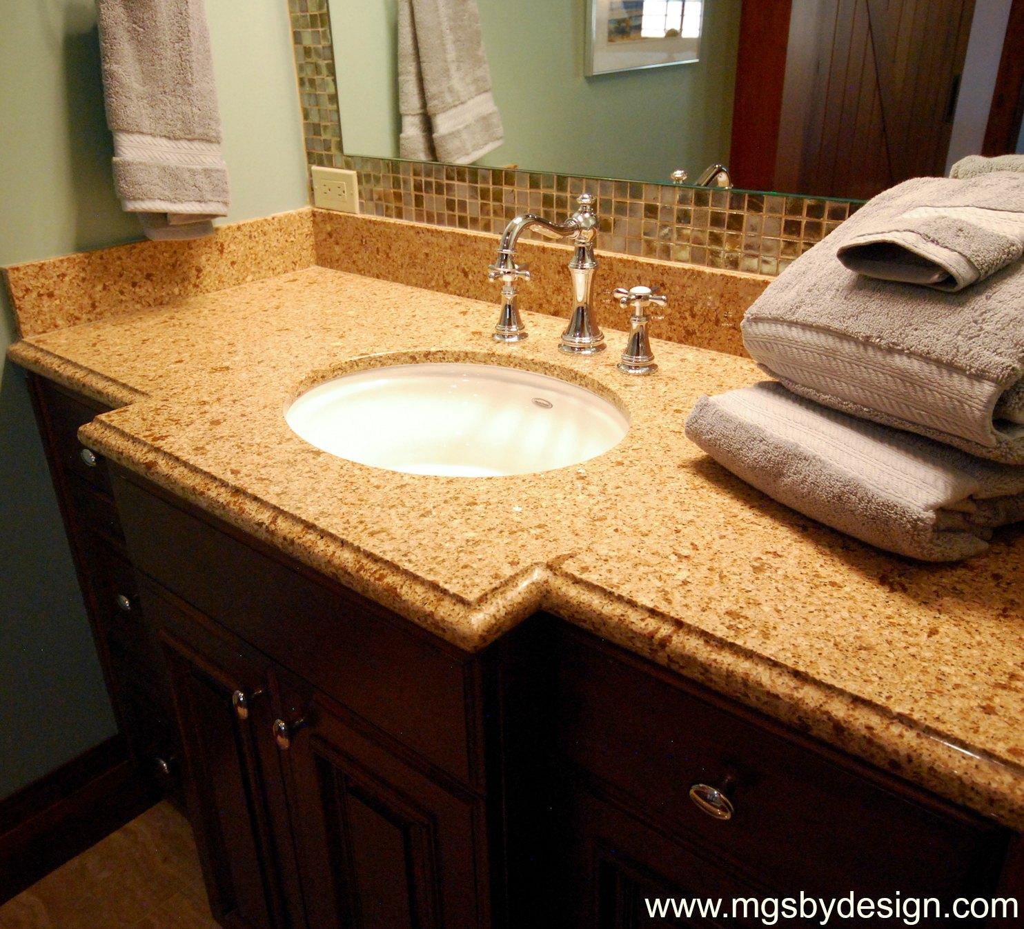 The granite gurus chocolate truffle caesarstone quartz in for 2 inch quartz countertop