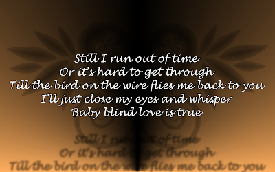 Bed Of Roses - Bon Jovi Song Lyric Quote in Text Image