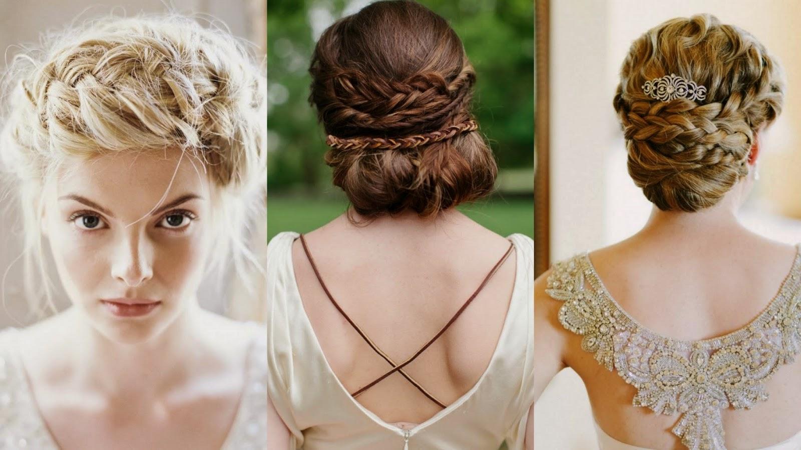 Recogidos De Pelo Corto Para Bodas - Peinados de novia para pelo corto Bodaclick