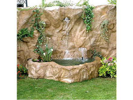 Cascada artificial para jardin imagui for Cascadas de agua artificiales
