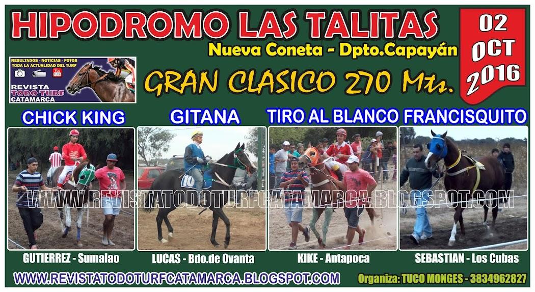 CLASICO LAS TALITAS 02/10/2016