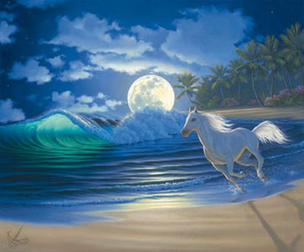 Il mondo di mary antony i paesaggi hawaiani di john al hougue for Quadri facili da dipingere