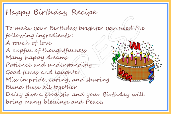 Crafty This and That 10111 11111 – Sample Recipe Card