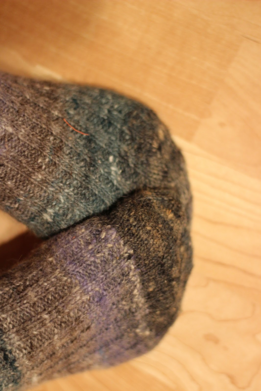 Midnightsky Fibers: Noro Silk Garden Sock: A Year Later