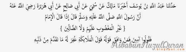 Quran Surat al Fatihah ayat 1