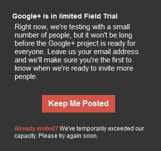 Cara mendaftar atau agar diundang di Google+