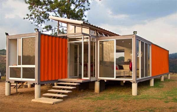 A Shipping Container Costs About $2,000. What These 15 People Did With That Is Beyond Epic - Open up the metal boxes and let your imagination run wild.