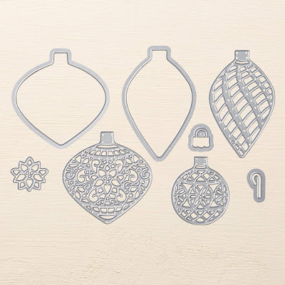Delicate Ornament Dies - Get these must have Stampin' Up! UK Thinlit Dies here