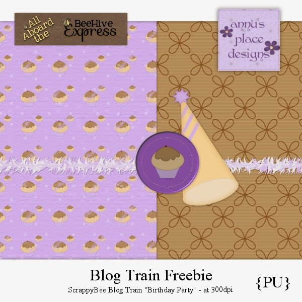 ScrappyBee Blog Train