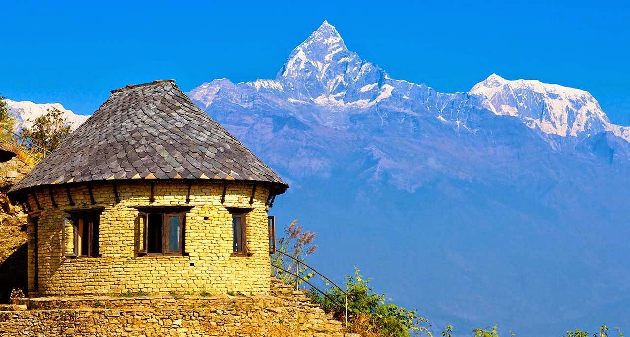 village in himalayan region