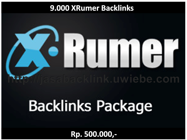 Jasa Backlink | 9.000 XRumer Links | Jasa SEO