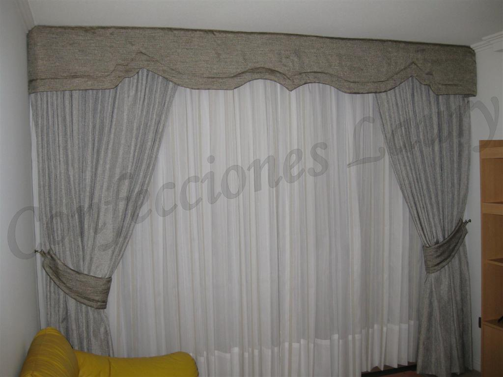 cortinajes may laury cortinas para living y comedor