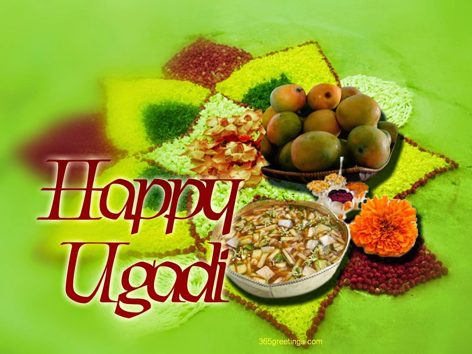 ... Ugadi (Gudi Padwa) Wallpaper wishing Images - Happy Holi Wallpapers