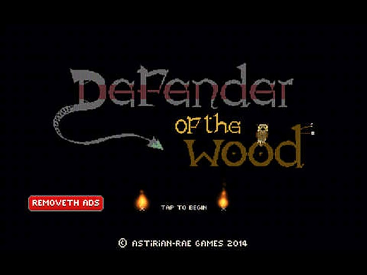 Defender Of The Wood App By Daragh Robert Wickham
