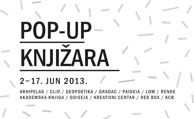 POP UP knjižara u Kulturnom centru Beograda