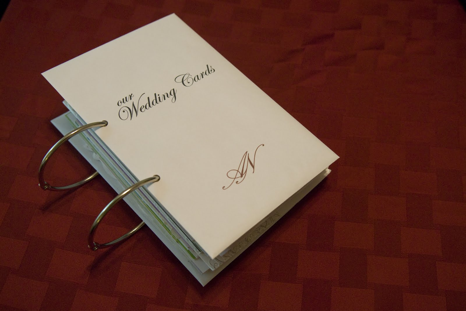 our trek what to do with greeting cards my diy wedding card album