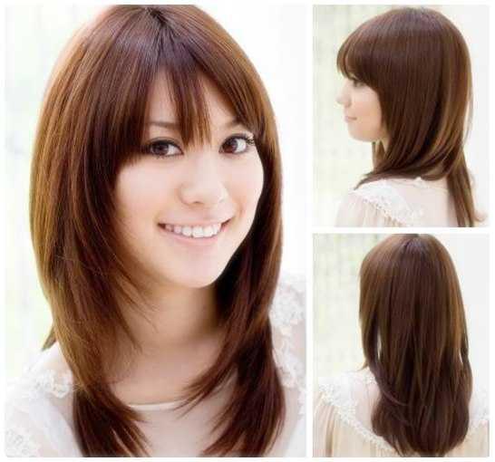 Model Rambut Layer Panjang Terpopuler - Gaya rambut pendek elegan