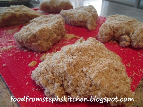 Double crumbing the chicken - Steph's Kitchen