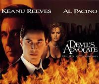 Cartelera de película de cine sobre abogados