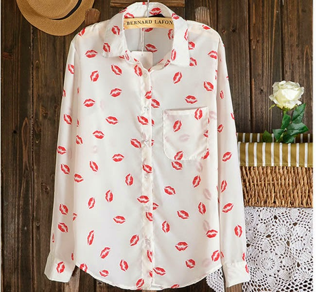 camisa kiss aliexpress