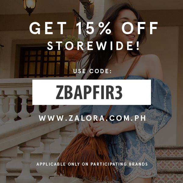 15% Off at Zalora
