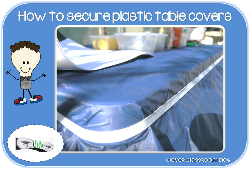 How To Secure A Plastic Table Cloth