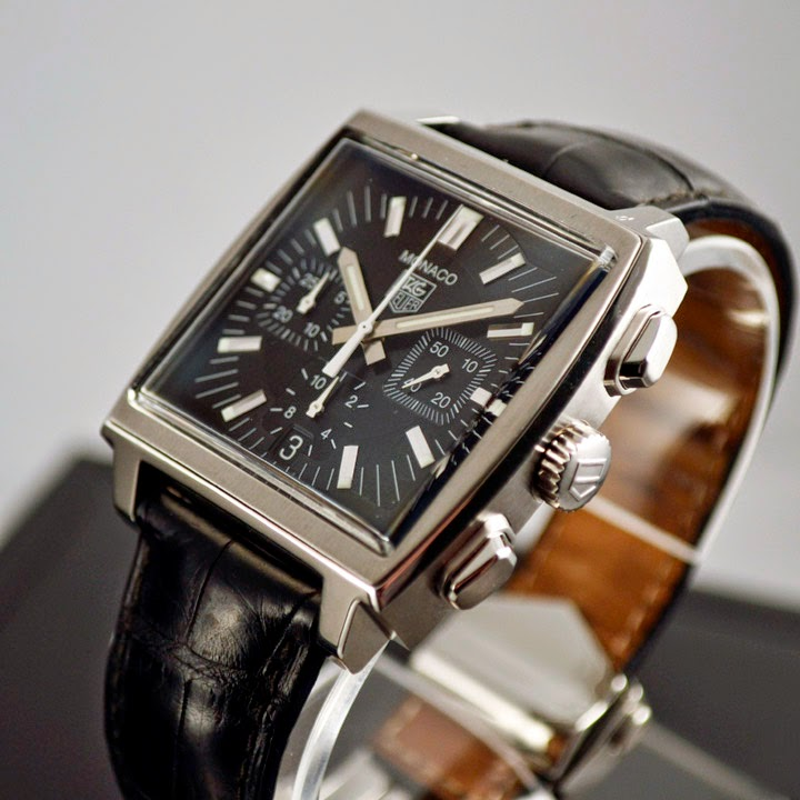 SOLD TAG HEUER MONACO AUTOMATIC CHRONOGRAPH CW2111