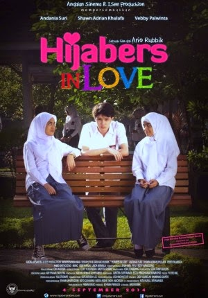 Film Hijabers In Love 2014 di Bioskop