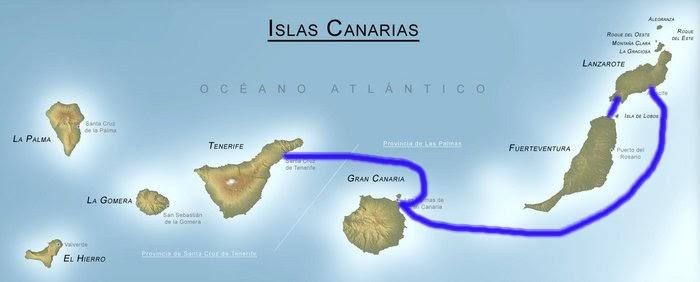 Siete islas en bicicleta hacia gran canaria lanzarote y - Canarias 7 telefono ...