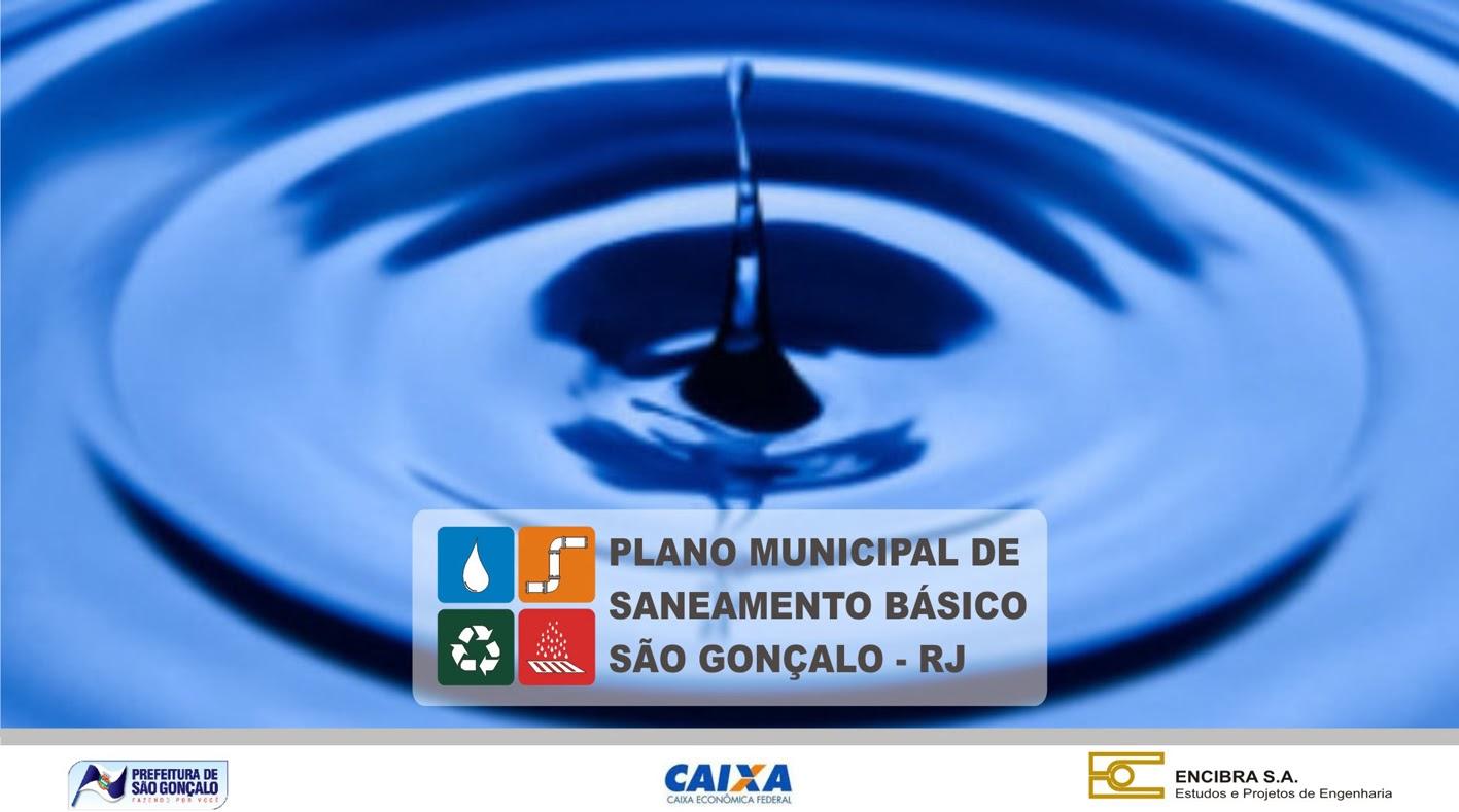 Plano Municipal de Saneamento Básico - São Gonçalo