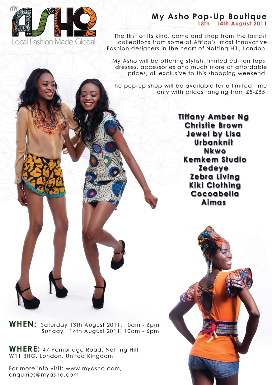 Pop up boutique african fashion and flair emerges in west london