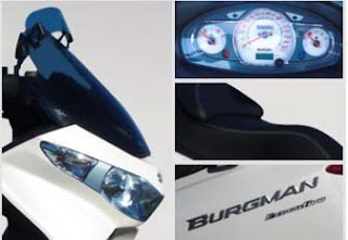 detalles burgman Executive