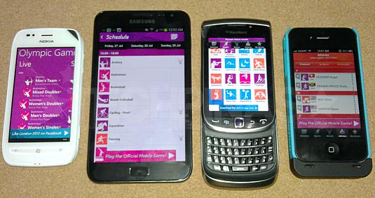 london olympics 2012 app