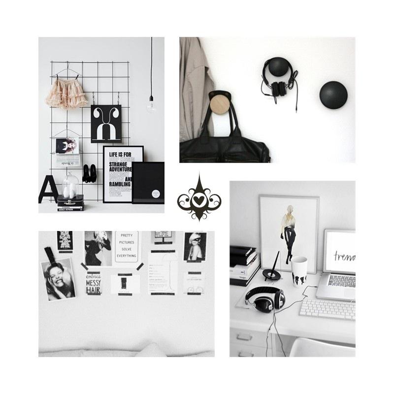 Interieur inspiratie zwart wit for Interieur zwart wit