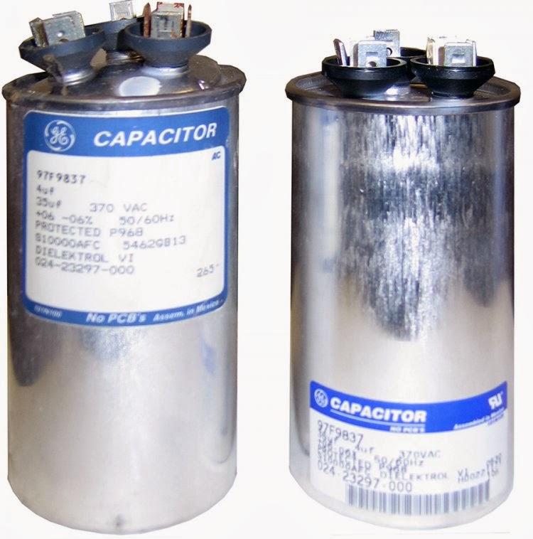 Repair hvac capacitors fan motor etc wesley tyler 3 0 for Capacitor for fan motor