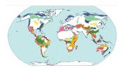 Ecoregiones. Mapa de ecoregiones en el Mundo. Disponible en : ambientes